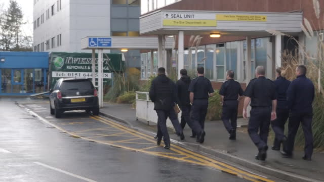 exterior shots of a hospital accomodation block on the wirral where evacuees from wuhan are to arrive on 31 january 2020 in wirral, united kingdom - medical research stock videos & royalty-free footage