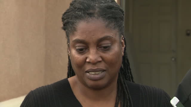 Exterior shots of a local woman speaking to reporters about her previous interactions with the Turpin family saying that she had never suspected that...