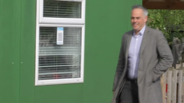 GBR: Jonathan Bartley, Leader of the Green Party, casts his vote