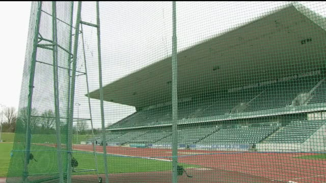 exterior shots of alexander stadium under refurbishment ahead of the 2022 commonwealth games on 11th march 2020 in birmingham england - commonwealth games stock videos & royalty-free footage