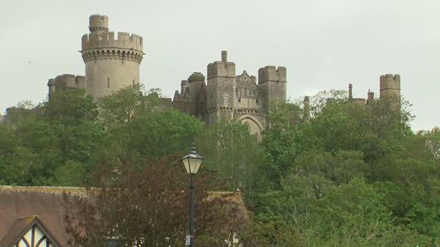 exterior shots of arundel castle in west sussex, 24th may 2021, united kingdom - arundel castle stock videos & royalty-free footage