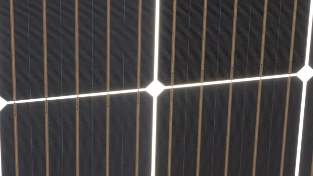 exterior shots of banks of solar panels in the ordos desert on 26 june 2019 in ordos, china - coal stock videos & royalty-free footage