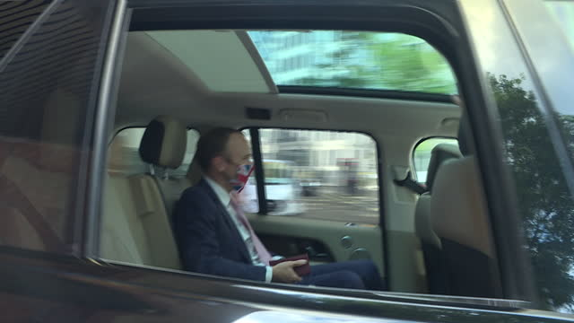 GBR: UK: British Prime Minister Boris Johnson calls Health Secretary Matt Hancock hopeless in texts revealed by Former Downing Street Chief of Staff Dominic Cummings.