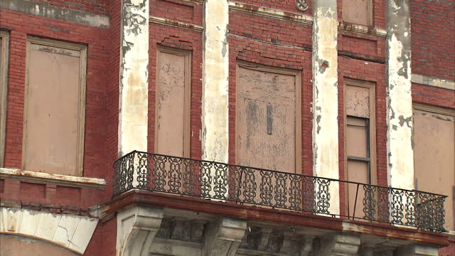 Exterior shots of buildings and traffic on Broad Street in Selma>> on March 07 2015 in Selma Alabama