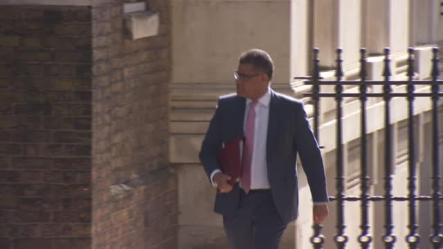 GBR: Health Secretary Matt Hancock delivers government daily press briefing