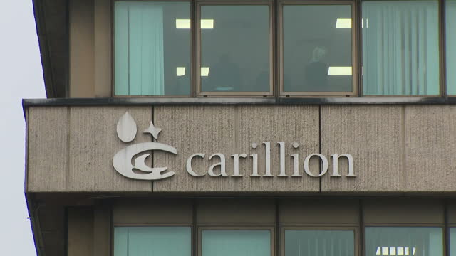 Exterior shots of Carillion company headquarters on January 15 2018 in Wolverhampton England