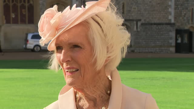 GBR: Mary Berry has been made a Dame Commander