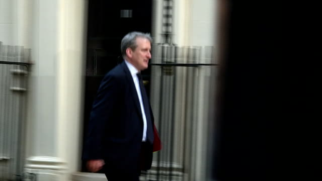 Exterior shots of Damian Hinds MP Secretary of State for education walking into 10 Downing Street on 31 January 2017 in London United Kingdom