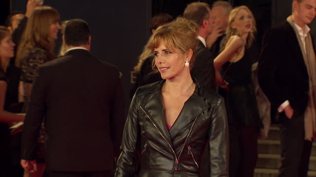 exterior shots of darcey bussell attending the royal world premiere of 'spectre' at royal albert hall on october 26 2015 in london england - spectre 2015 film stock videos and b-roll footage