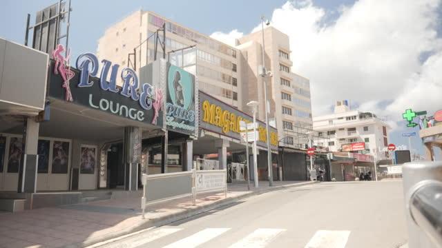 ESP: Magaluf in Mallorca a European destination desperate for the return of international travel.