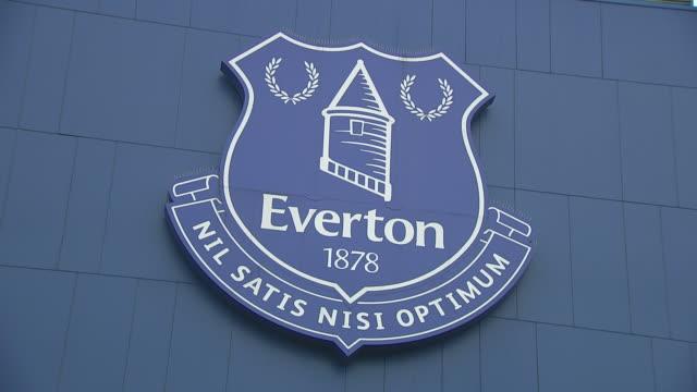 vidéos et rushes de exterior shots of everton's football ground goodison park in liverpool on the 25th novemebr 2019. - everton