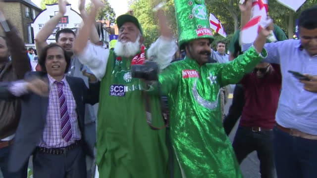 exterior shots of fans celebrating england's championship in the cricket world cup 2019 on the streets of london on 14th july 2019 in london england - world championship stock videos & royalty-free footage