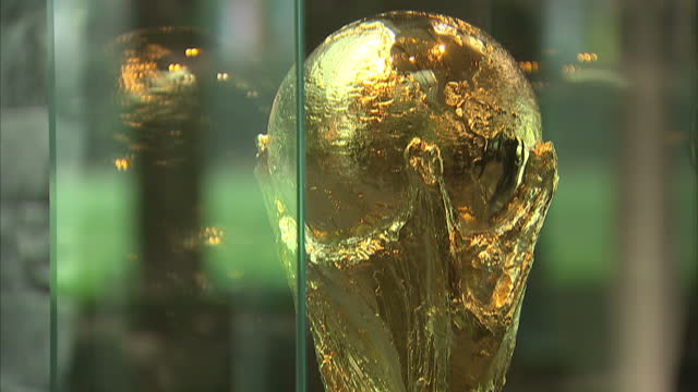 exterior shots of fifa headquarters in zurich interior close up shots of the fifa world cup trophy fifa headquarters in zurich on october 04 2013 in... - fifa stock videos & royalty-free footage