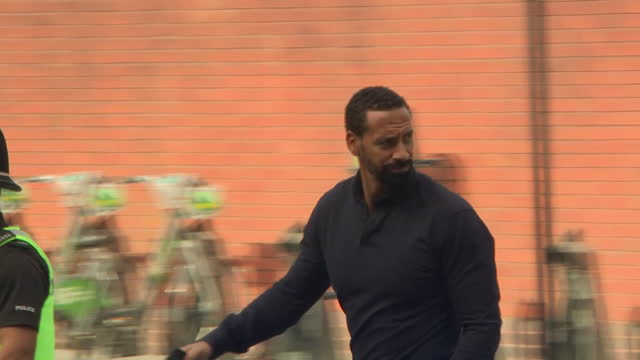 GBR: Ferdinand and Jamie Arnold arrivals for racism trail