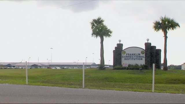 exterior shots of franklin correctional institution in florida. - crime or recreational drug or prison or legal trial stock videos & royalty-free footage