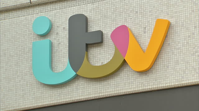 exterior shots of itv headquarters the london studios also known as the london television centre and itv towers on july 17 2014 in london england - itv放送点の映像素材/bロール