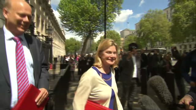 exterior shots of Justine Greening MP International Development Secretary Chris Grayling MP Leader of the House of Commons Lord President of the...