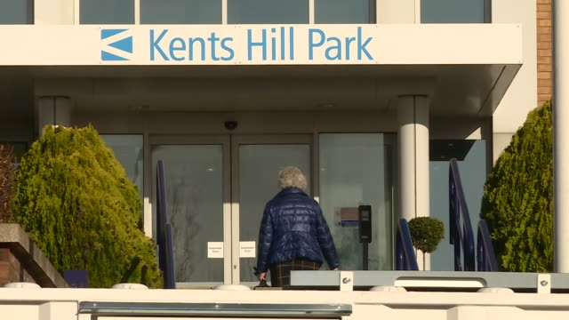 exterior shots of kents hill park training conference centre being used as a quarantine centre on 8 february 2020 in milton keynes england - solitude stock videos & royalty-free footage