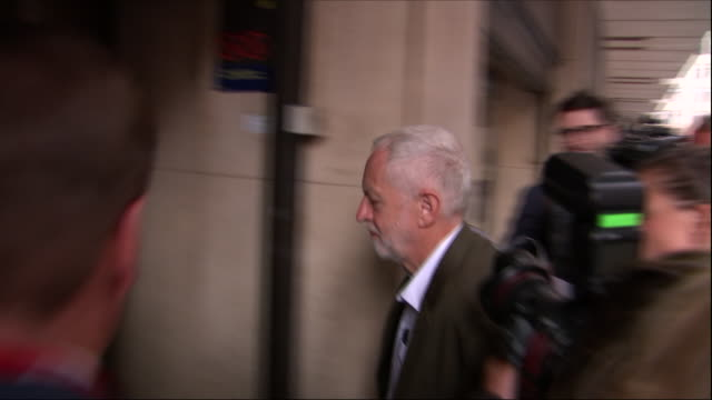 Exterior shots of Labour Party Leader Jeremy Corbyn MP arriving to attend NEC Labour meeting on 4th September 2018 in London United Kingdom N