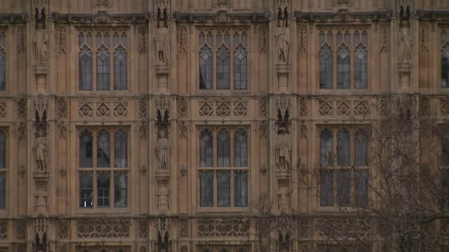 exterior shots of large christmas tree outside parliament square on the 21st november 2020 in london, england - star shape stock videos & royalty-free footage