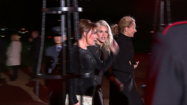 exterior shots of lorraine kelly and ashley roberts arriving at the national maritime museum in greenwich for the sun military awards.>> on december... - lorraine kelly stock videos & royalty-free footage