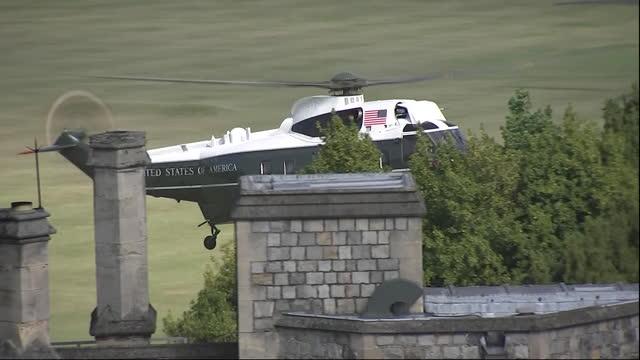 GBR: UK: Queen Elizabeth meets US President Joe Biden at Windsor Castle.