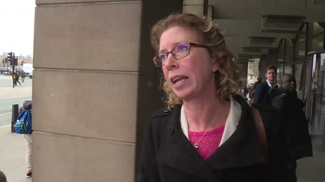 exterior shots of nicole sapstead chief executive of uk antidoping departing from portcullis house after giving evidence to the culture media and... - ドーピング点の映像素材/bロール