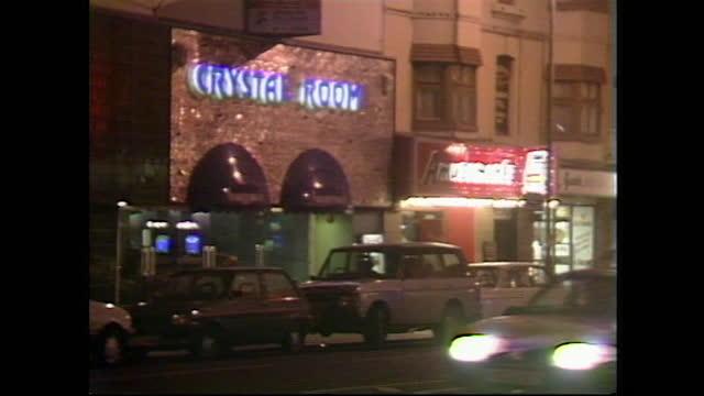 exterior shots of nightclubs in brighton, uk; 1986. - nightlife stock videos & royalty-free footage