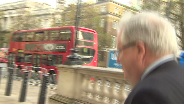 exterior shots of patrick mcloughlin mp arriving at a cobra cabinet meeting to discuss the ebola threat on november 11 2014 in london england - patrick mcloughlin stock videos and b-roll footage
