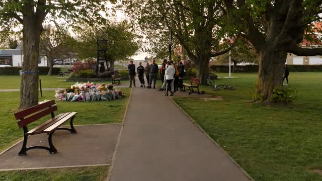 GBR: Vigil and flowers for murdered PCSO Julia James