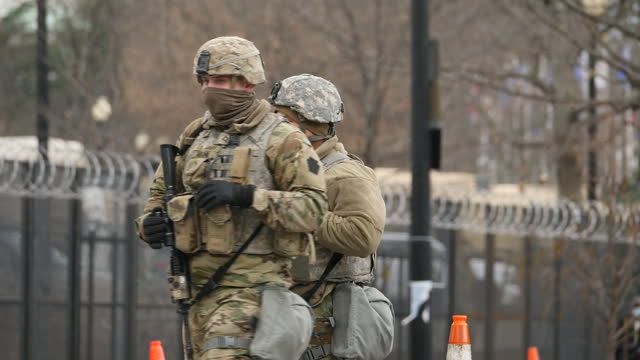 DC: Joe Bidens inauguration as the 46th U.S. President in Washington – an event like no other because of a perfect storm of Covid-19 and tight security following the Capitol attack