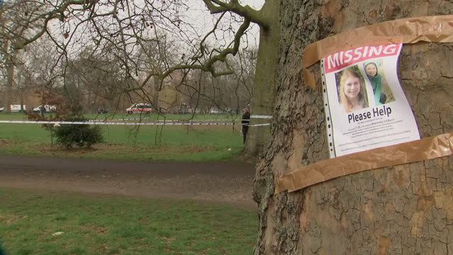 exterior shots of police cordon, police officers at scene and missing persons poster for sarah everard as search underway at her last known... - poster stock videos & royalty-free footage