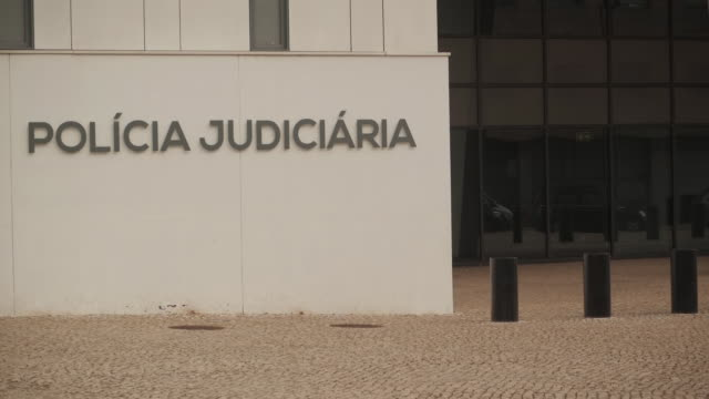 exterior shots of policia judiciaria police headquarters on 11 september 2020 in lisbon, portugal - madeleine mccann stock videos & royalty-free footage