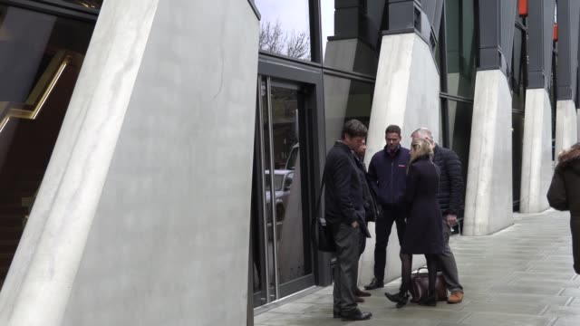stockvideo's en b-roll-footage met exterior shots of premier league hq as professional football in england will not resume until april 30 at the earliest due to the coronavirus... - english football association