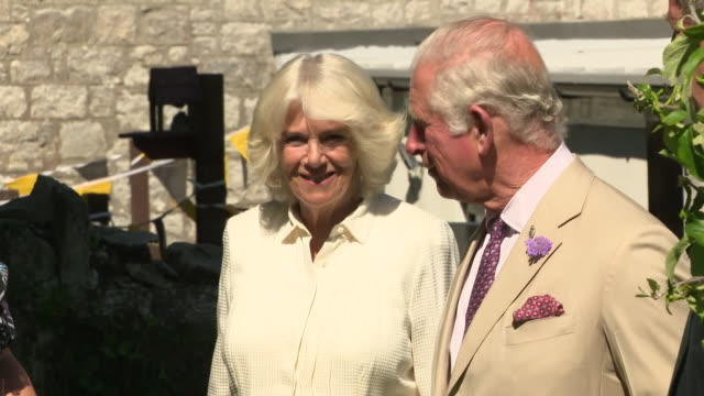 GBR: Prince Charles and Camilla continue a three-day visit to Cornwall