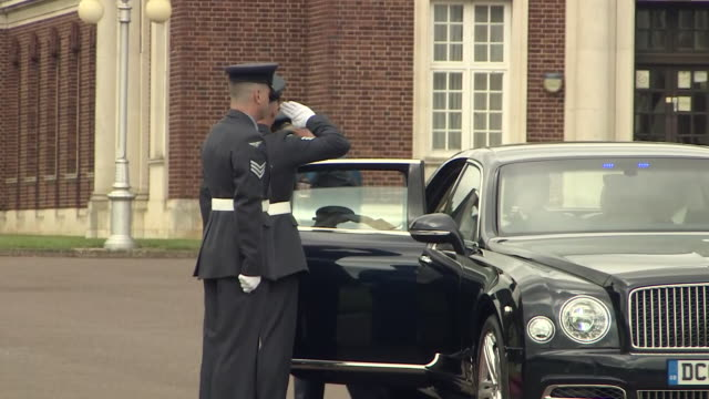 GBR: Prince Charles pays a visit to RAF Cranwell