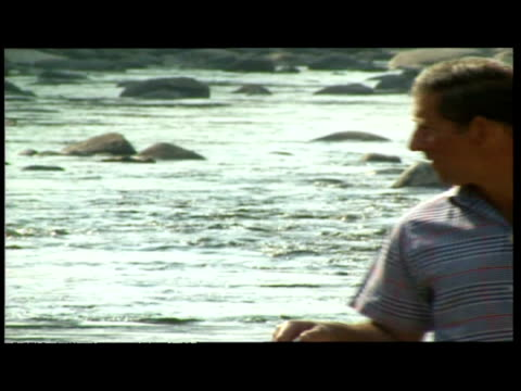 exterior shots of prince charles, prince william & prince harry on holiday at balmoral. - anno 1997 video stock e b–roll