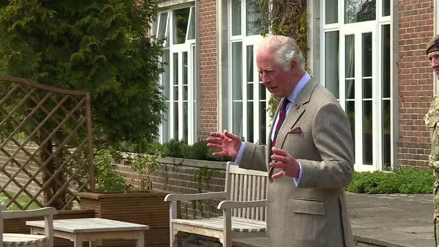 GBR: The Prince of Wales has personally thanked Welsh Guardsmen who took part in the Duke of Edinburgh's funeral.