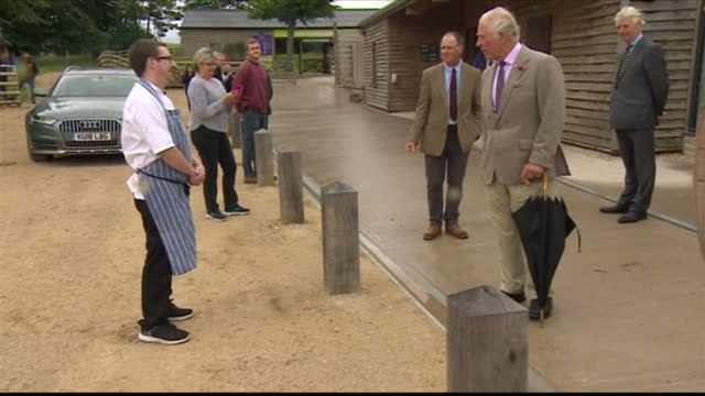 GBR: Prince Charles visits the Cotswolds