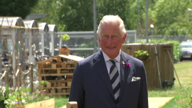 GBR: Prince Charles makes visit to GCHQ in Cheltenham to celebrate 100 years of UK cyber security