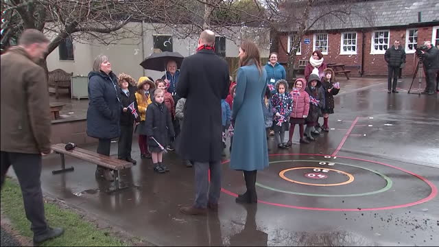 GBR: The Duke and Duchess of Cambridge continue their 'Thank You' tour of the UK