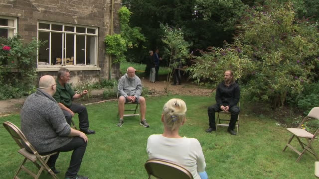 GBR: Prince William visits a homeless centre for rough sleepers