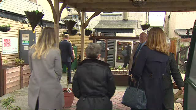 GBR: Prince William visits Rhyl