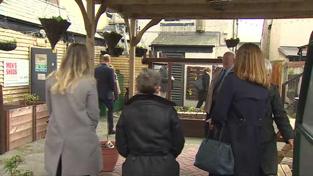GBR: Prince William visits Rhyl