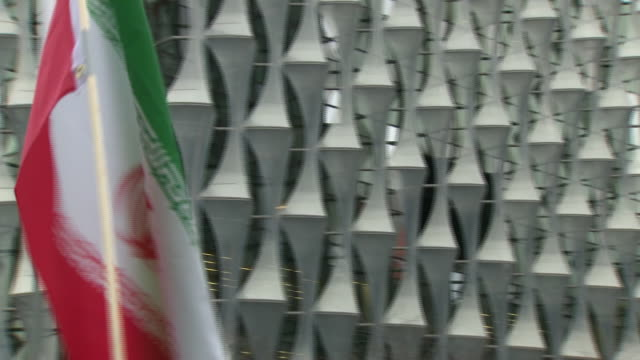 exterior shots of protestors demonstrating outside us embassy in london on january 04 2020 london england - iran stock videos & royalty-free footage