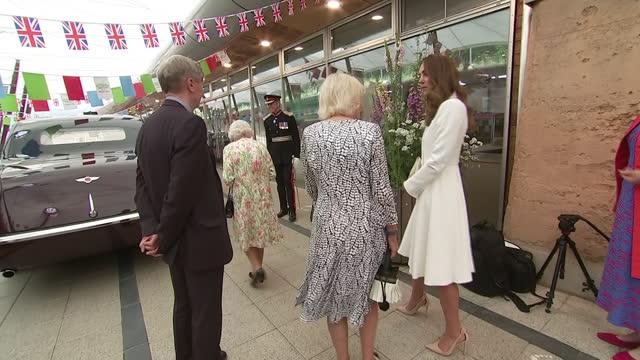 GBR: UK: Queen Elizabeth hosts G7 leaders  at Cornwall's Eden Project.