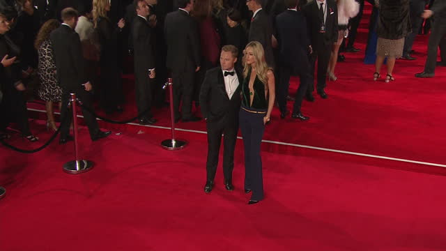 exterior shots of ronan keating and storm keating attending the royal world premiere of 'spectre' at royal albert hall on october 26, 2015 in london,... - ronan keating stock videos & royalty-free footage