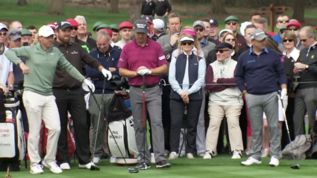 exterior shots of rory mcilroy playing a round of golf round the golf course at adare manor shot on may 1st 2018 in adare ireland - green golf course stock videos & royalty-free footage