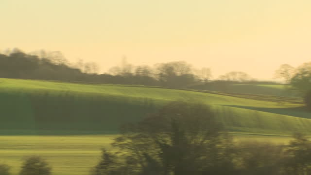 exterior shots of scenery around sutton bank hill in the north york moors national park >> on january 07 2018 in thirsk england - north york stock videos & royalty-free footage