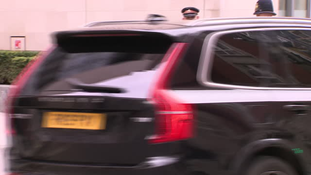 GBR: Prince Philip leaves St Bartholomews Hospital after operation